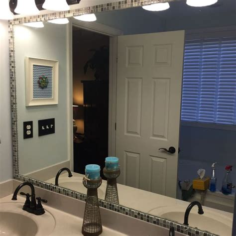 how do you remove a bathroom mirror best 25 tile mirror frames ideas that you will like on