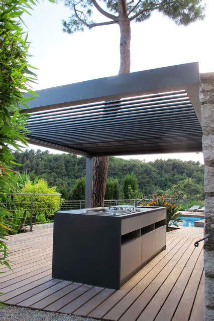 lustre en bois 3332 pergolas bioclimatique cuisine d 233 t 233 m 233 diterran 233 en