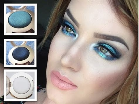 Eyeshadow Gel mermaid tutorial new milani gel powder eyeshadows