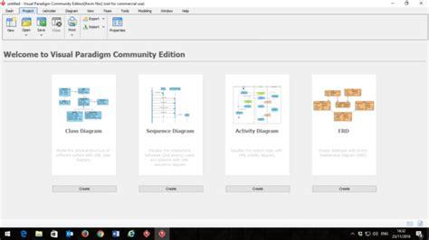 membuat erd dengan visual paradigm cara mudah membuat sequence diagram dengan visual paradigm