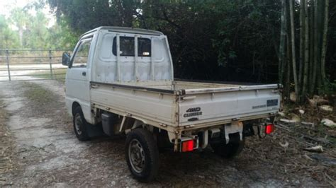 1989 daihatsu hijet dump 4wd mini truck no reserve