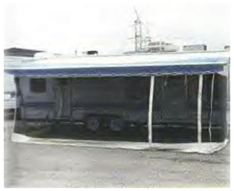 rv awning screens rv screen rooms