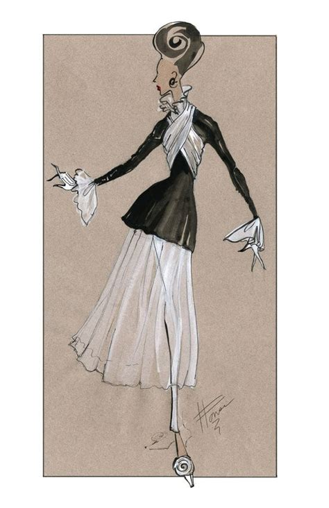114 best fashion images on black and white high fashion sketches www pixshark com