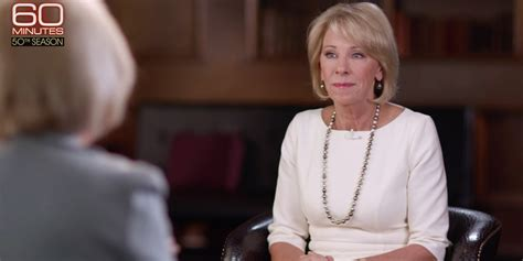 betsy devos interview trump s education secretary has stumbled through a series