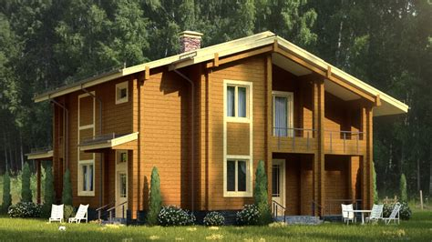 xfrog architectural lugovoe wood cottage
