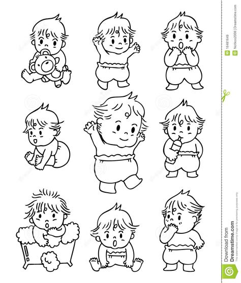 doodle baby doodle baby royalty free stock images image 16481649