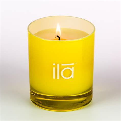 Light A Candle Vj Summers by Organic Candles Flowers Ila Spa