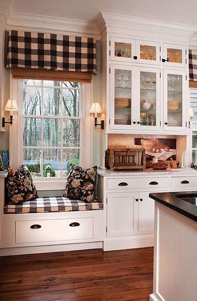 kitchen window seat ideas cute window seat in country kitchen pictures photos and