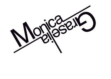 Design Photo With My Name | monica graselia my name s logo design