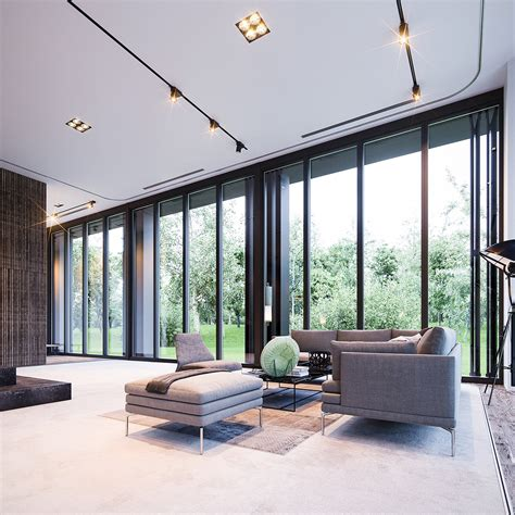 Windows To The Floor Ideas 3 Interior Concepts With Floor To Ceiling Windows