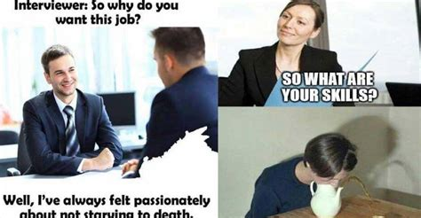 Job Interview Meme - job interview funny stories how to fail in your next