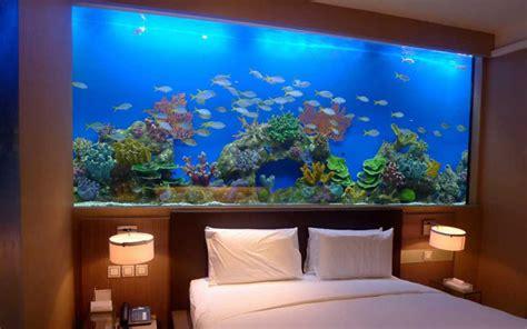 acuarios en casa ideas para decorar con acuarios modernos