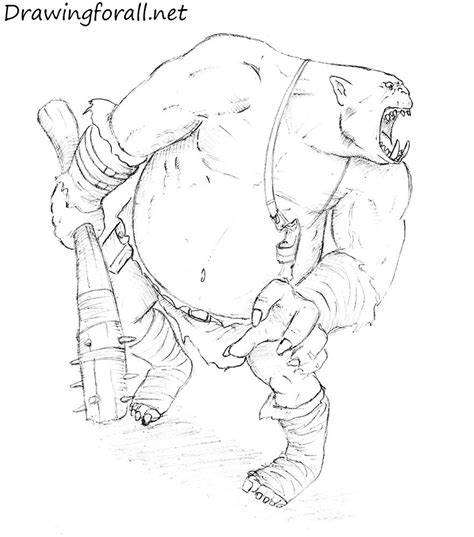 draw on how to draw an ogre drawingforall net