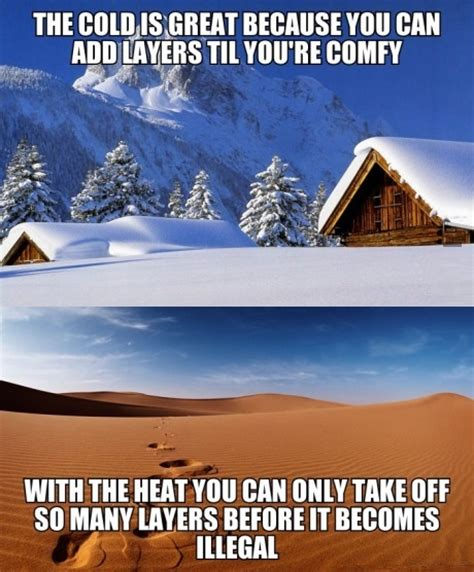 funny hot weather jokes hot weather vs cold weather
