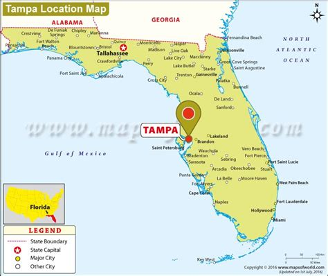 where is ta located in florida usa