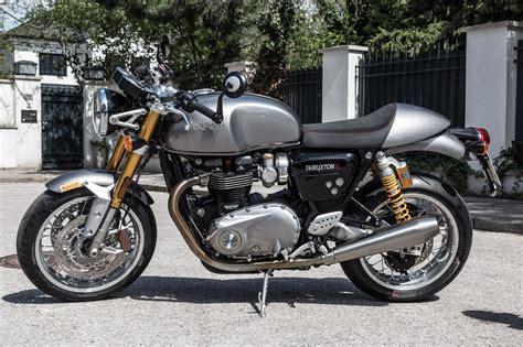 Triumph Motorrad Zubehör Online Shop by Triumph Thruxton R K Ots Dauertester Motorrad Fotos