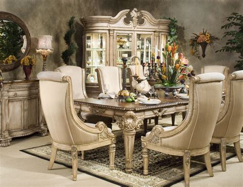 Pedestal Dining Room Table Sets davinci furniture furniture classic