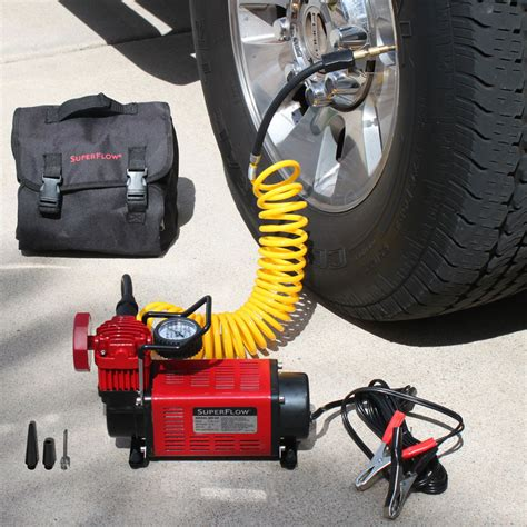 review of the mv50 superflow high volume 12 volt air compressor by q industries best quality