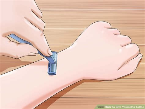 how to give yourself a tattoo how to give yourself a with pictures wikihow