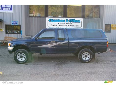 imagenes de pickup toyota 1993 blue pearl metallic toyota pickup deluxe v6 extended
