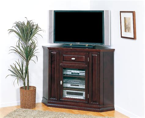 Corner Tv Cabinet With Doors by Furniture Oak Corner Tv Cabinet With Doors In