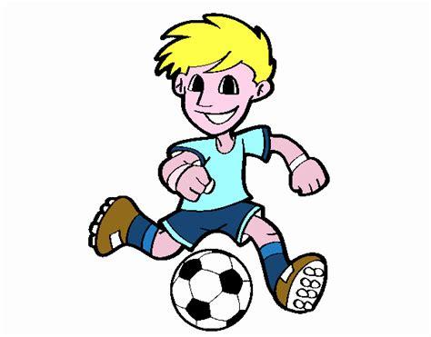 imagenes a lapiz de futbol dibujo de jugador de f 250 tbol con bal 243 n pintado por en