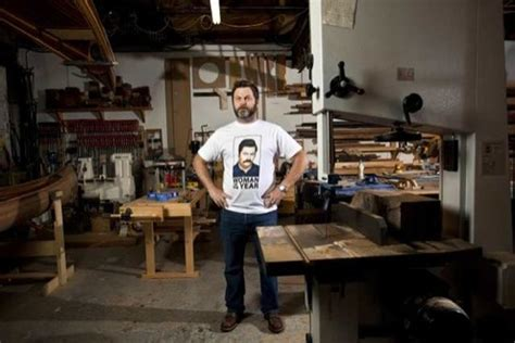 offerman woodworking take a tour of nick offerman s swanson s