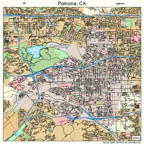 california map pomona pomona california map 0658072