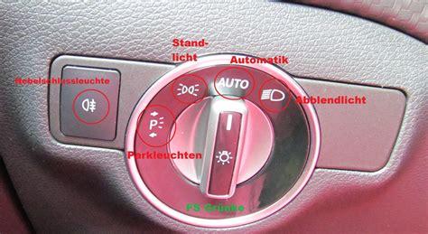 beleuchtung auto beleuchtung auto symbole afdecker