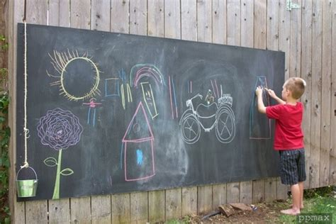 diy outdoor chalk paint ingenious ways of using chalkboard paint