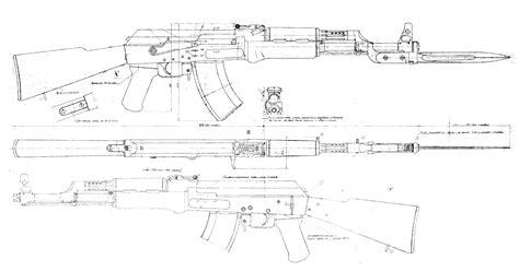 ak 47 blueprint free blueprint for 3d modeling