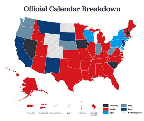 Us Delegates By State The Official Guide To The 2016 Republican Nominating