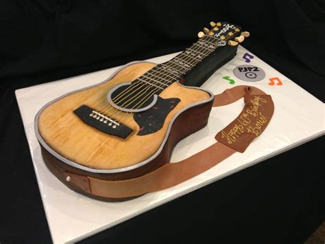 facebook guitar themes 156 best images about cakes guitar on pinterest