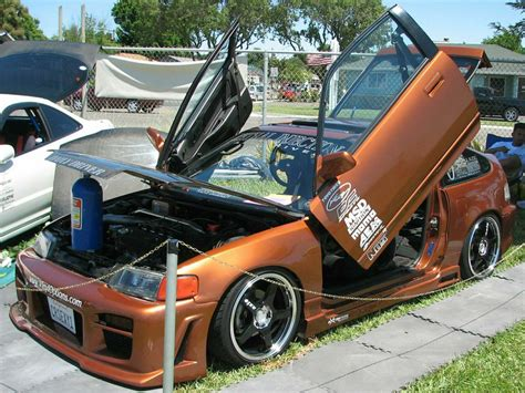 custom honda crx crx custom