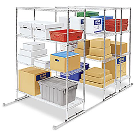 sliding storage shelves sliding storage shelves sliding wire shelving in stock uline