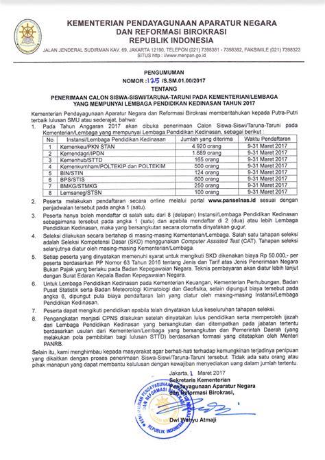 format surat lamaran cpns 2017 mendikbud pendaftaran online cpns panselnas id 2018 2019