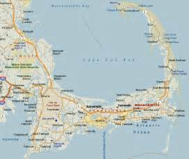 Cape Cod Massachusetts Map by Greater Cape Cod Map