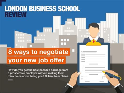 8 G Ways To Be by 8 Ways To Negotiate Your Offer Business School