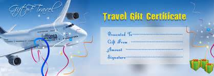 travel voucher gift certificate template best photos of travel gift voucher template
