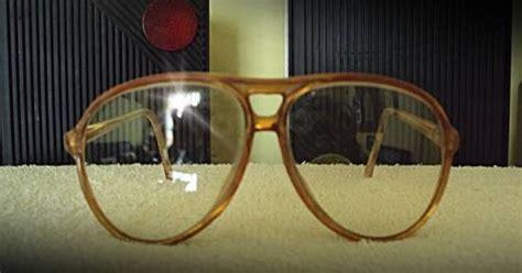 Kacamata Korea Lensa Bening Gagang Ungu antik unik cantik kacamata