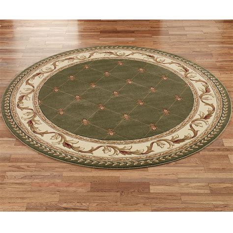 Circle Area Rug 7 Rug House Decor Ideas