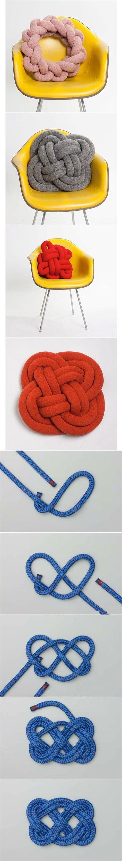 diy knot pillows craftbnb best 25 knot pillow ideas on pinterest fleece blanket