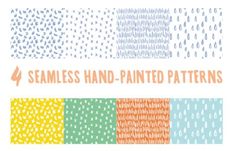seamless pattern ai file hand drawing cute vector seamless pattern vector vector