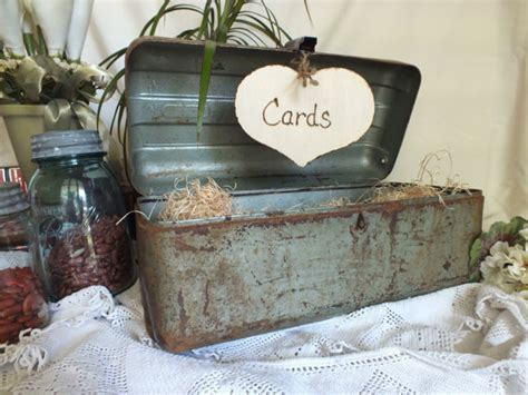 Wedding Tackle Box ideas for fishing themed reception weddingbee