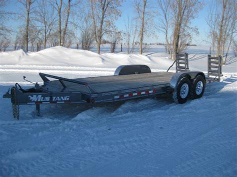 mustang trailers flatdeck trailer 10 171 171 mustang trailers mustang trailers