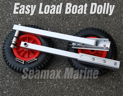 zodiac boat with wheels seamax easy load boat launching dolly 12