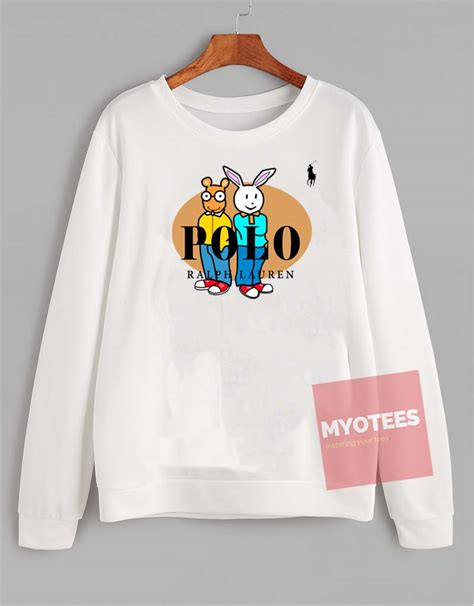 Sweater Unisex Polos Pink ralph arthur unisex sweatshirt my o tees