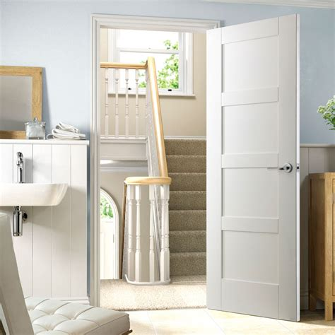 white panel interior doors shaker 4 panel white primed door shaker style panel doors