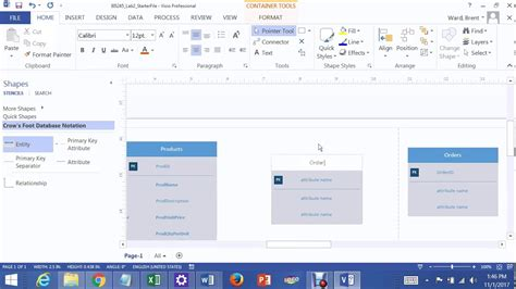many to many relationship visio lab 2 many to many relationship in visio 2013 joining