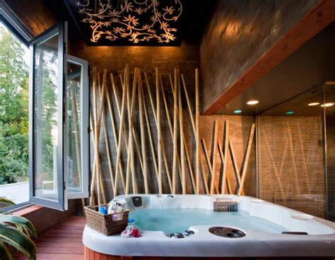 Floor And Tile Decor tips for planning an indoor spa room